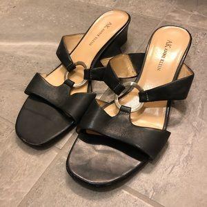 Vintage Anne Klein Leather Sandal Heel